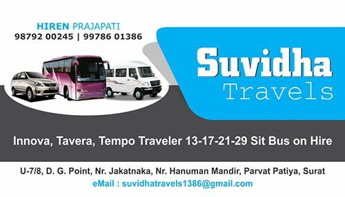 Suvidha Travel